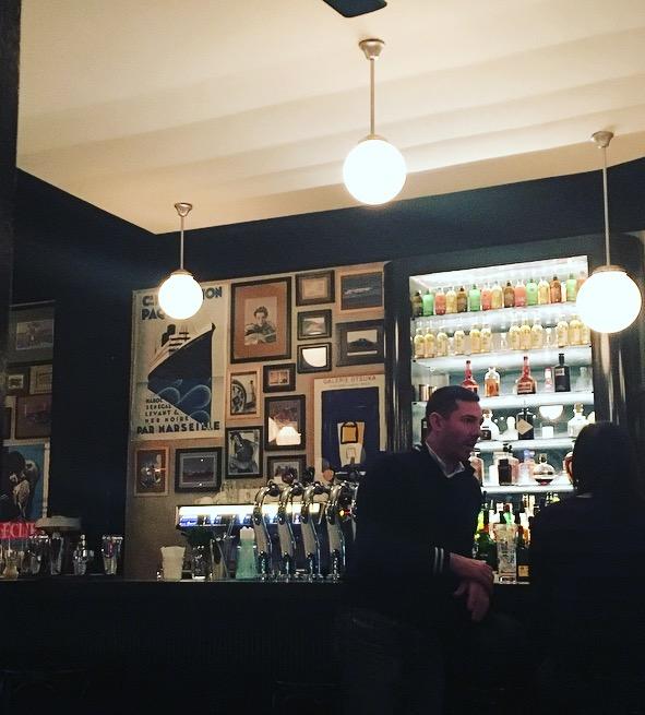cafe des arts et metiers bars paris cocktail planchettes charcuterie fromage gin fizz sortir à paris