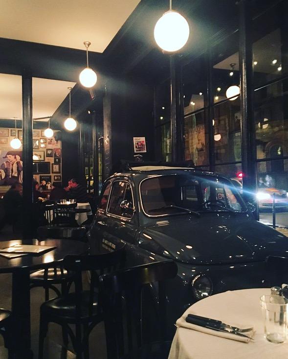 voiture cafe des arts et metiers bars paris cocktail planchettes charcuterie fromage gin fizz sortir à paris