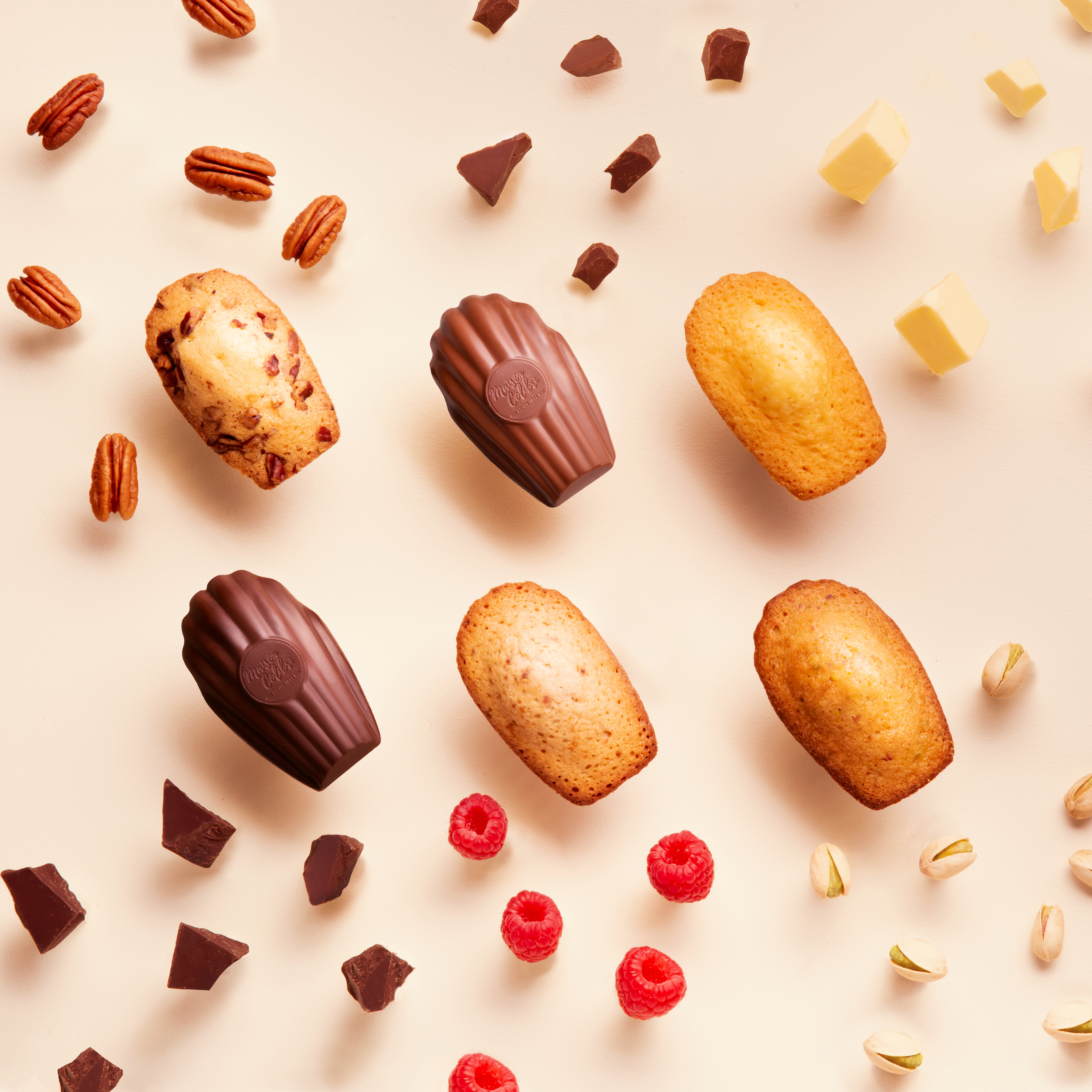 Maison Colibri Les Madeleines Personnalisables Made In France