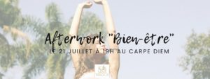 afterwork bien être