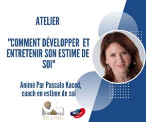 formation pour déveolpper l'estime de soi à Paris